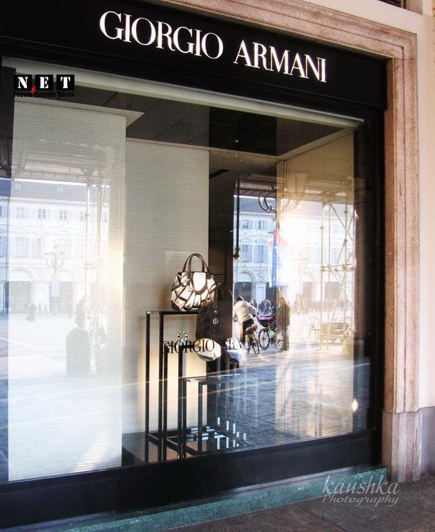 Магазин Армани в Турине