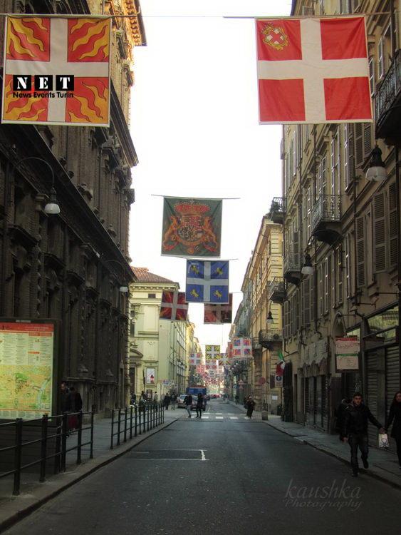 По пути в магазин Турина
