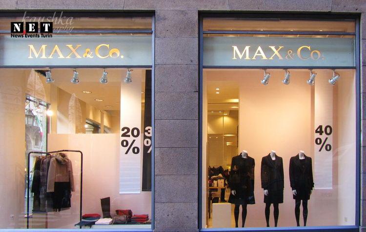 Max Co магазин в Турине