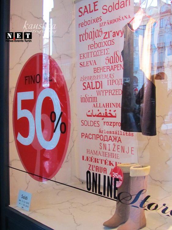 Магазины в Турине говорят по русски