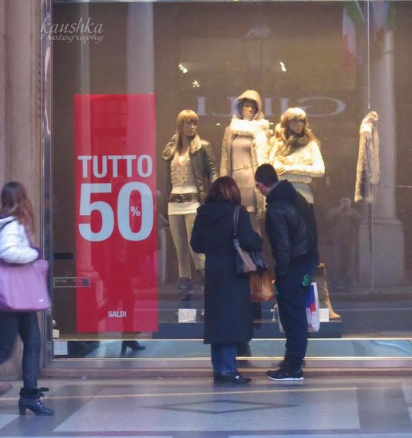 Магазины, торговые улицы, Аутлеты и стоки Турин