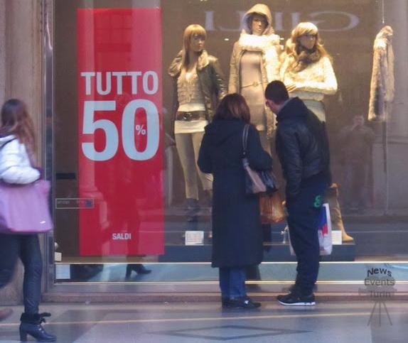 В Турине начались сезонные распродажи Италия 2015