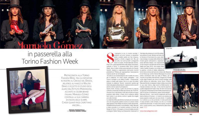 Kaushka Photography Torino Magazine n 124 pagina 163 О нас пишут итальянские СМИ