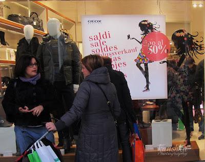 Outlet Italia Turin Piedmont Прогулка по торговым улицам Турина