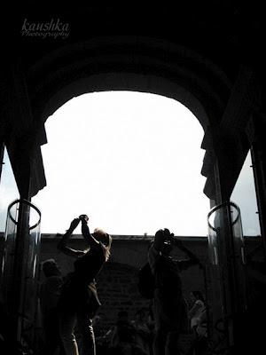 Зодиакальная арка в монастыре святого Михаила