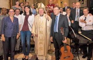 Архиепископ Турина приветствует верующих разных культур