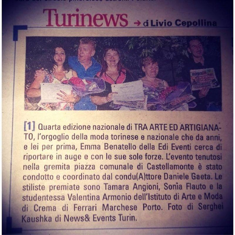 Kaushka Photography News Events Turin su giornale di Torino