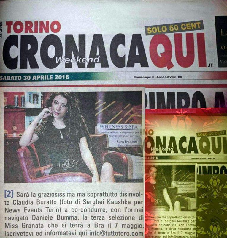 Фотография Новости и события Турин в итальянской газете
