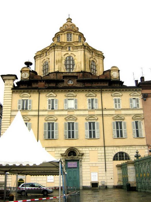 Церковь Сан Лоренцо Турин