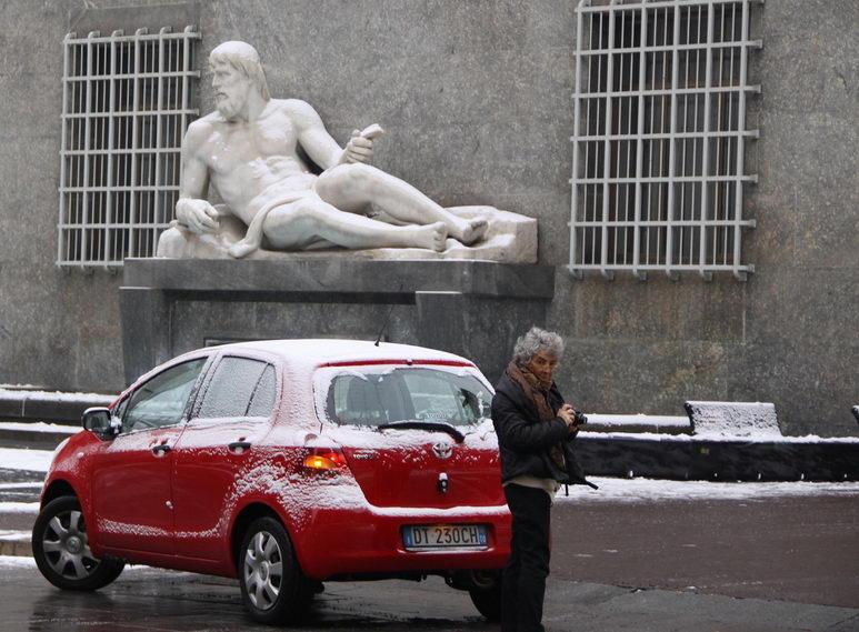 Памятники Турина piazza cln