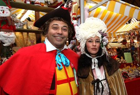 Во время карнавала в Турине проходят ярмарки вина