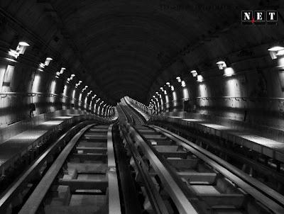 Туннель метрополитена Италия Турин