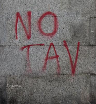 Протесты NO TAV Пьемонт