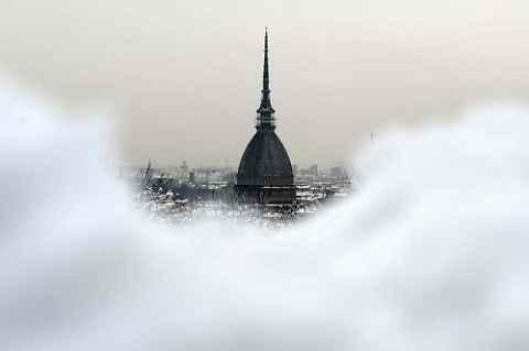 Турин холод и снег