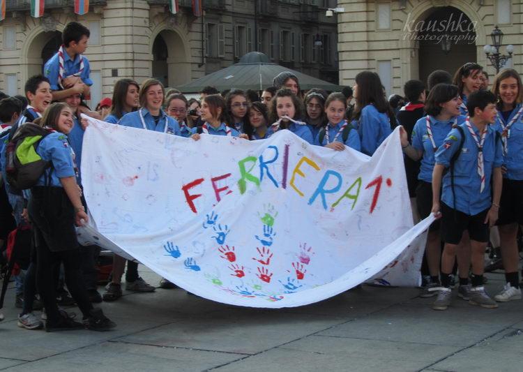 Flash Mob Scout Torino 25 febbraio 2012