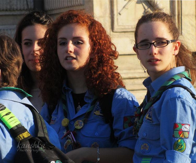 Италия подростки скауты