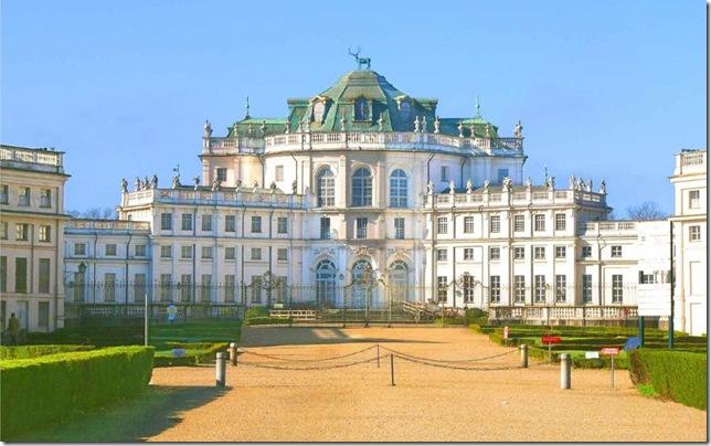 Лучшие королевские дворцы Италии Раккониджи охотничий павильон в Ступиниджи,