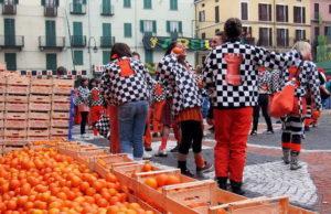 Апельсиновые сражения в Италии