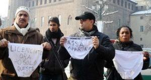 Mutanda day a Torino Манифестация против налогов День Трусов в Турине
