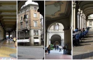 Портики Турина Знаменитые аркады в Турине и его архитектура 16-ти километровые арки