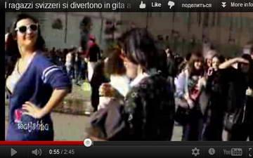 Швейцарская молодежь развлечение в Италии