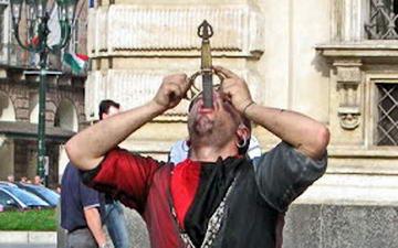 Итальянский факир в Турине