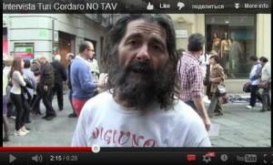 Intervista Turi Voccaro Torino attivista NO TAV