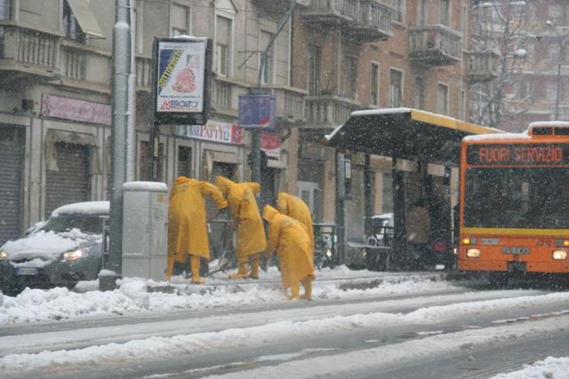 uboka snega turin italia