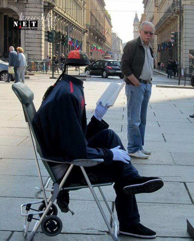 Человек без головы или невидимка Бесплатные достопримечательности в Турине