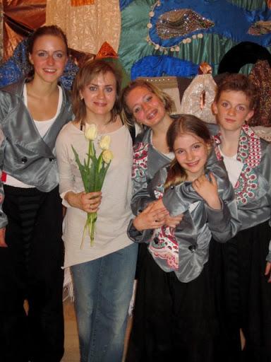 Русские дети в Италии Турине