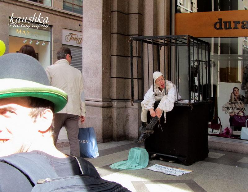 Итальянцы уличные актеры