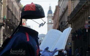Человек невидимка Италия Турин