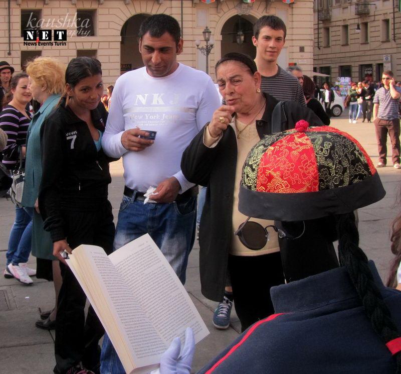 Туринцы поражены увиденным в центре города