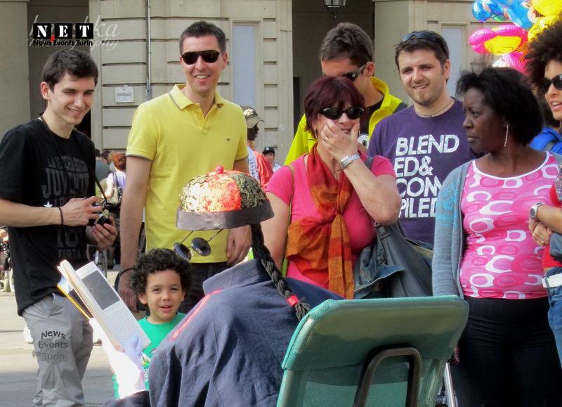 Жители Турина замерли в шоке от картины