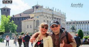 Гид сопроводил ребят по Турину на пасху.