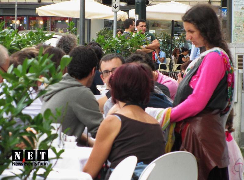 Цыганка ходит по Турину