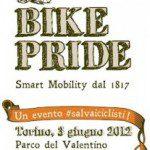 Парад велосипедистов Турин Италия