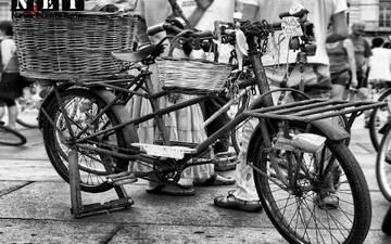 Велопарад вело пробег в Турине Италия