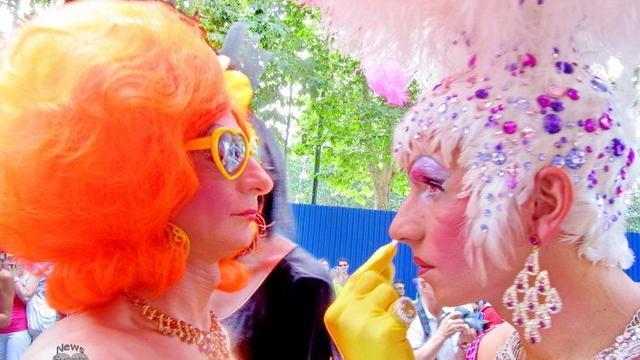 Гей парад Турин Италия 2012 Video Foto