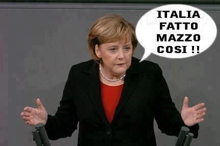 Меркель о поражении Германии от итальянцев