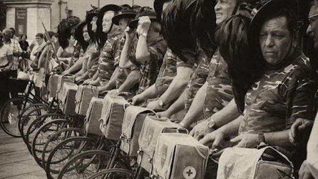 История велопарадов Турина в фотографии