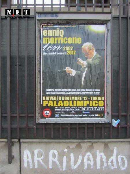 Э́ннио Моррико́не в Турине