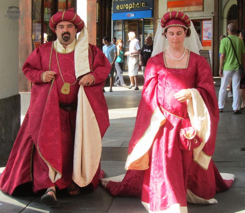 Традиционная одежда Пьемонта День города Турин 2012