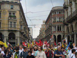 Протест против сезонной охоты в Пьемонте и всей Италии