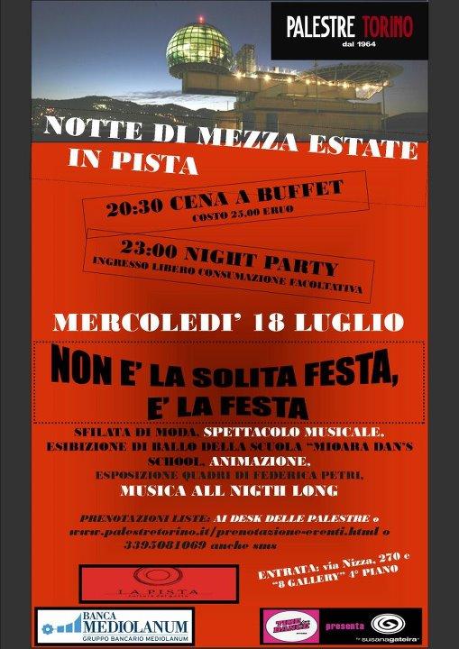 Palestre torino События Турина июль 2012