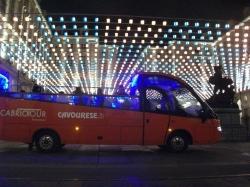 Кабриолет автобус Турин