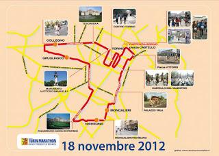 Марафонский бег в Турине