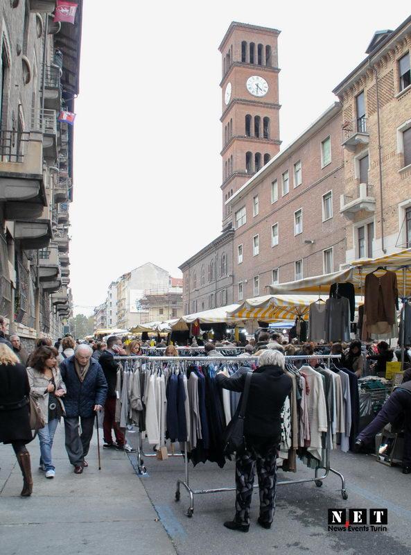 Большое количество рынков Турина выходят на торговые улицы