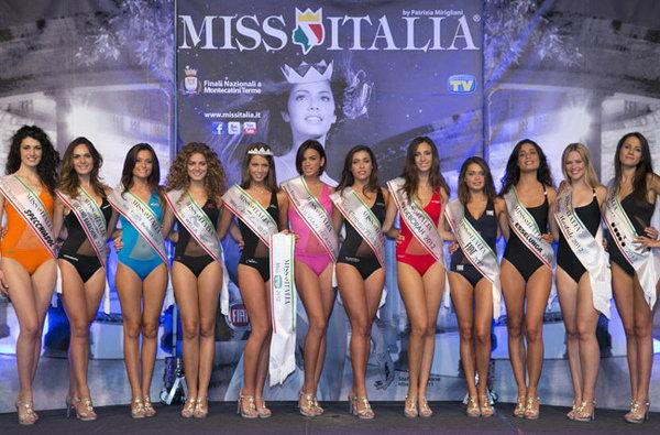 Конкурс красоты Мисс Италия 2012