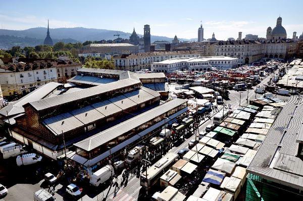 Рынки Турина - Самые большие рынки Европы находятся в Турине